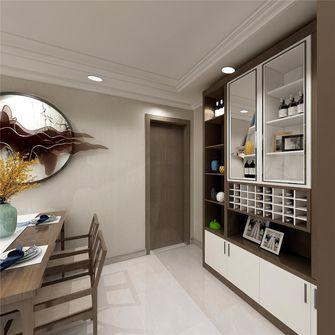 经济型80平米三室两厅中式风格餐厅设计图