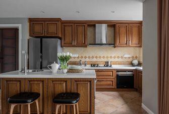 140平米四美式风格厨房设计图