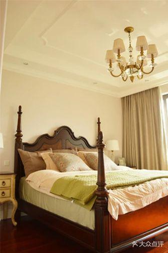 140平米三室三厅英伦风格卧室效果图