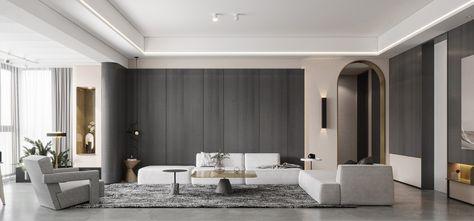 5-10万80平米地中海风格客厅设计图