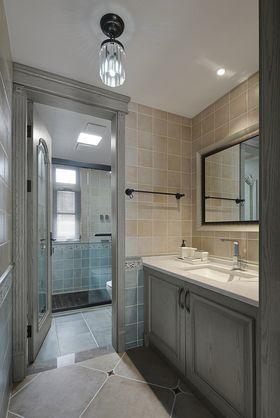 130平米三室兩廳美式風格衛生間設計圖