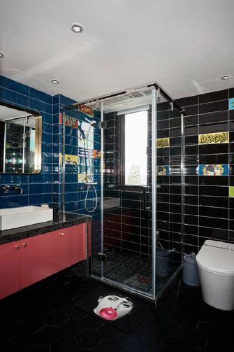 140平米四室两厅英伦风格卫生间欣赏图