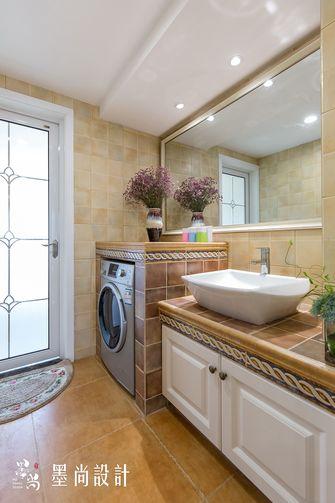 富裕型100平米三室两厅田园风格卫生间效果图