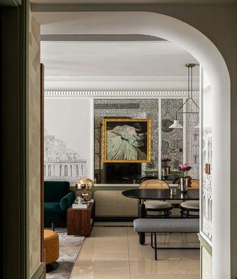 90平米三室两厅田园风格客厅图