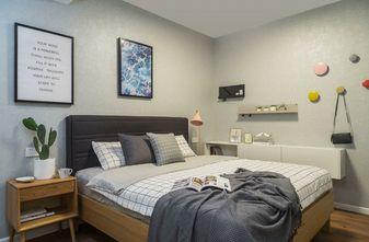 80平米一室两厅混搭风格卧室图片