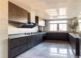 120平米三室两厅现代简约风格厨房效果图