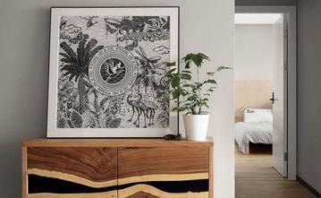 70平米三室一厅现代简约风格走廊欣赏图