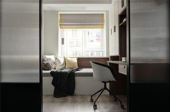 90平米三室两厅北欧风格书房图片
