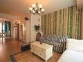 90平米三室一厅田园风格客厅装修图片大全