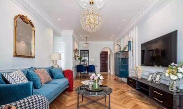 80平米法式风格客厅设计图