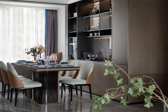 120平米四室两厅现代简约风格餐厅设计图