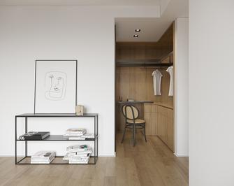 120平米三室两厅现代简约风格衣帽间装修效果图