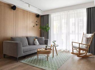 100平米三室两厅日式风格客厅图片