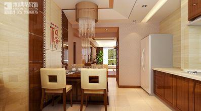 110平米三室两厅中式风格餐厅家具效果图