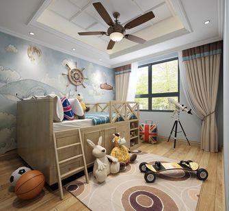 140平米别墅英伦风格儿童房装修效果图