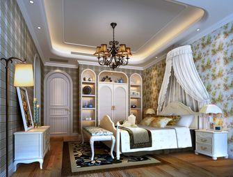 豪华型140平米四室一厅田园风格卧室设计图
