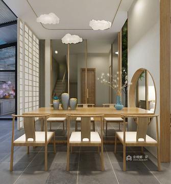 140平米复式日式风格餐厅装修图片大全
