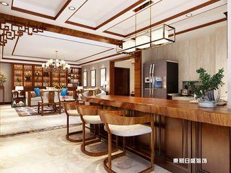 140平米三室两厅中式风格餐厅装修图片大全