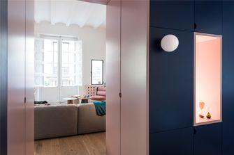 60平米英伦风格客厅装修案例