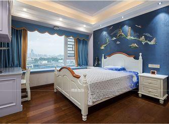 140平米四室一厅美式风格儿童房图片