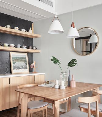 90平米三室一厅宜家风格餐厅设计图