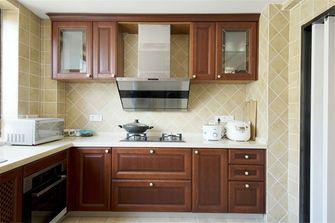 140平米四室两厅现代简约风格厨房橱柜装修案例