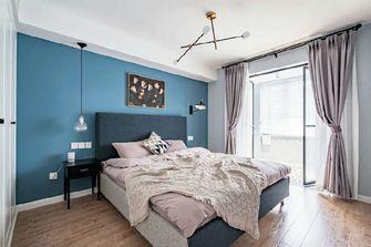 50平米一居室混搭风格卧室设计图