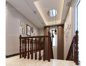 140平米别墅混搭风格楼梯间欣赏图
