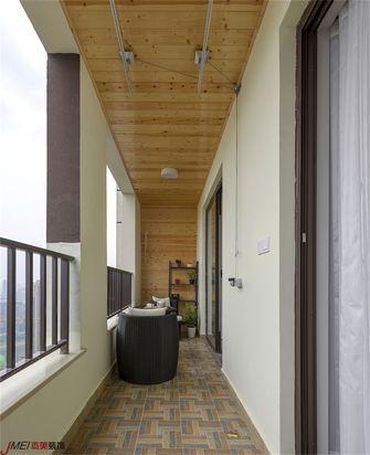 80平米北欧风格阳台设计图
