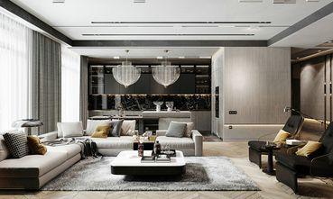 110平米三室两厅英伦风格客厅装修效果图