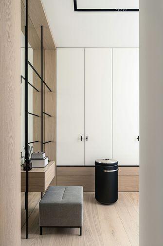 130平米三室一厅日式风格衣帽间装修案例