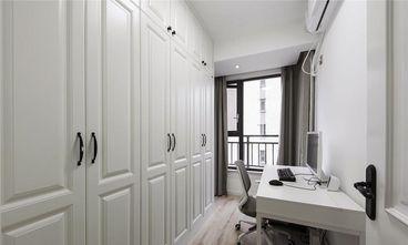 100平米三室一厅美式风格书房装修效果图