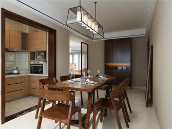 110平米三室两厅中式风格餐厅装修案例
