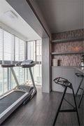 120平米四室两厅现代简约风格健身室装修案例