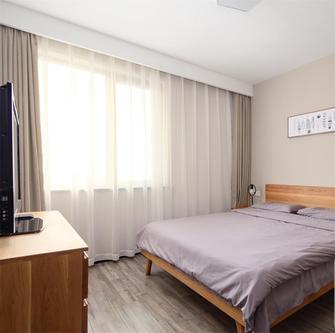 70平米混搭风格卧室设计图