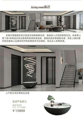 140平米四室四厅其他风格客厅效果图