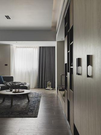 100平米三室两厅混搭风格客厅效果图