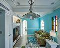 富裕型140平米四室三厅田园风格客厅装修案例