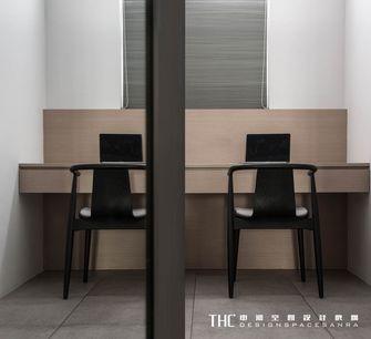 140平米三室两厅现代简约风格书房设计图