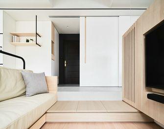 50平米公寓日式风格客厅设计图