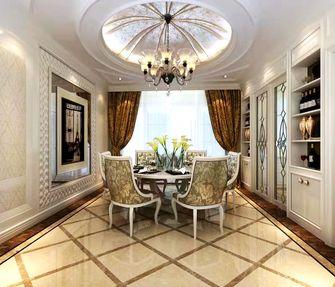 100平米三室三厅美式风格餐厅设计图