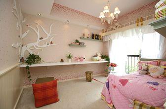 110平米三室两厅田园风格儿童房图片大全