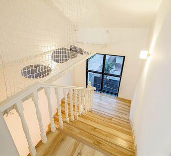 120平米三室两厅现代简约风格楼梯间图片