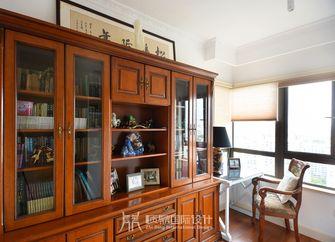 10-15万80平米美式风格书房欣赏图