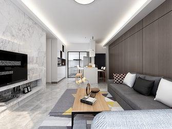 140平米三室一厅欧式风格客厅装修图片大全