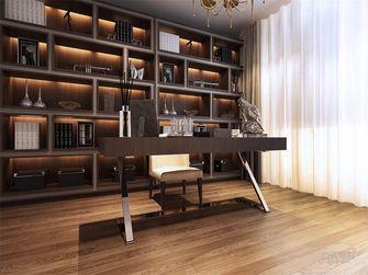 富裕型130平米四室四厅欧式风格书房设计图