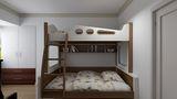 90平米混搭风格儿童房设计图