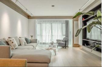 100平米三室一厅日式风格客厅设计图