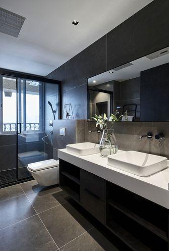 120平米三室一厅现代简约风格卫生间装修图片大全