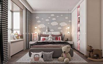 140平米三室一厅中式风格儿童房装修案例